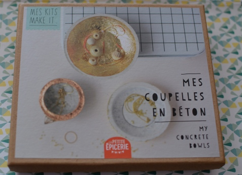 Mes kits, make it mes coupelles en béton