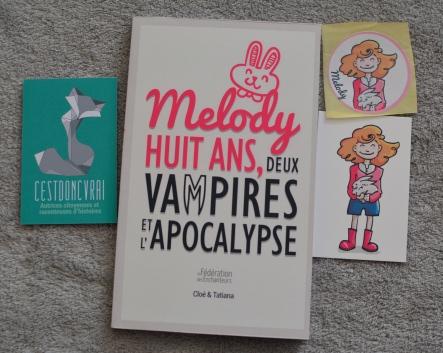 Melody 8 ans, 2 vampires et l'Apocalypse