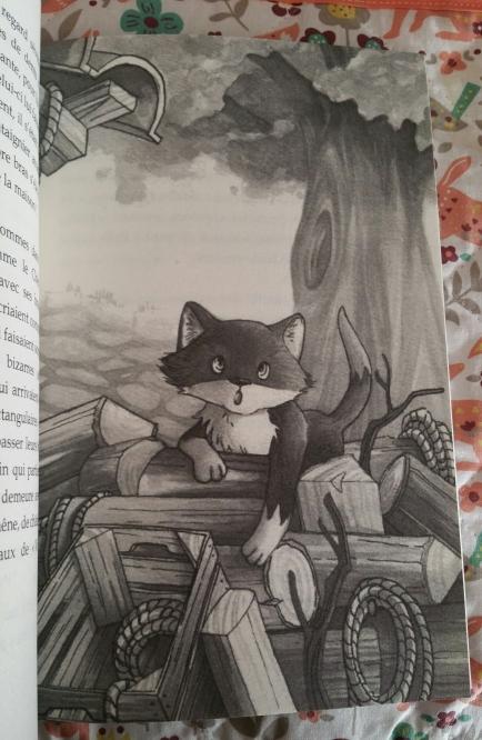 Le voyage d'un chat, Christophe Bladé et JustineF