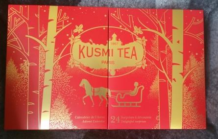 Calendrier de l'Avent Kusmi Tea