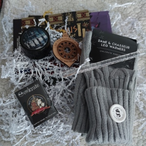 Goodies Owlcrate december 2020