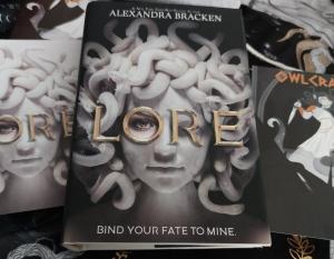 Lore, Alexandra Brackens Owlcrate edition