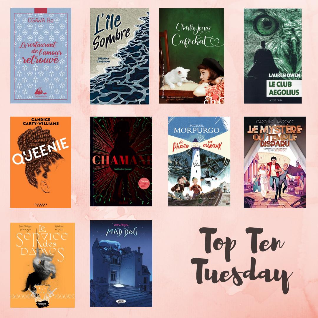 Top Ten Tuesday(4)