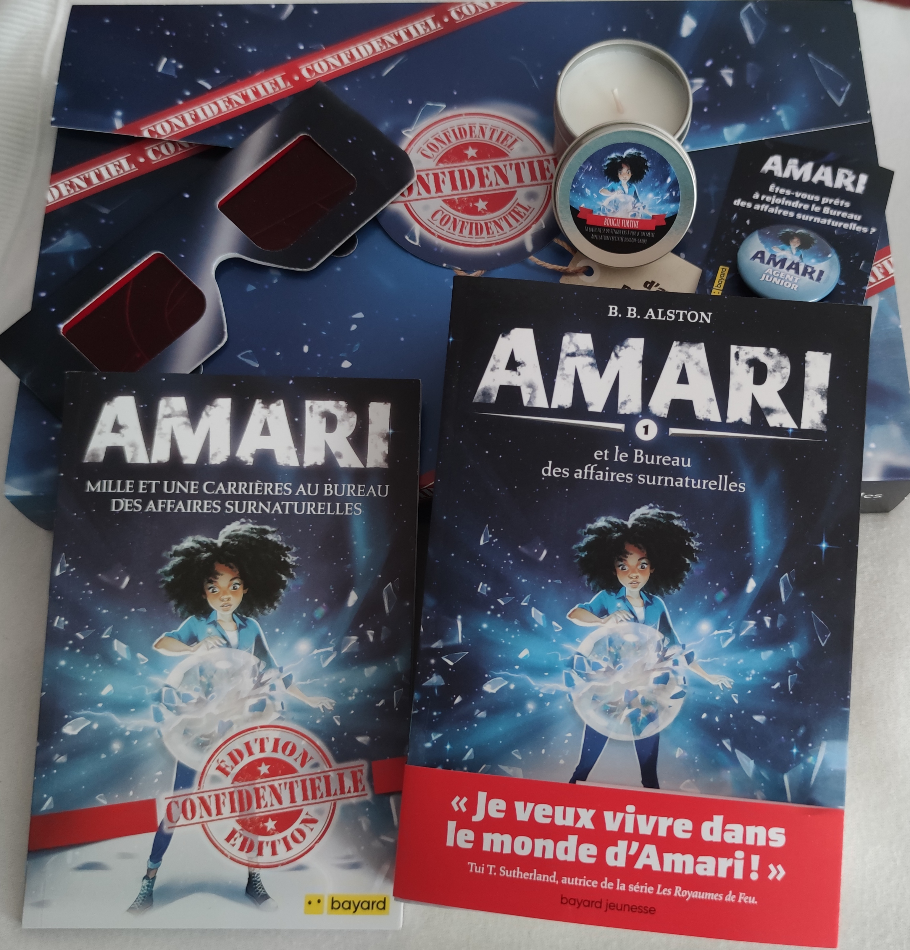 Amari et le Bureau des affaires surnaturelles - kit presse